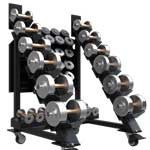 Black Iron Strength® Adjustable Dumbbells are the only commercial grade adjustable dumbbells.