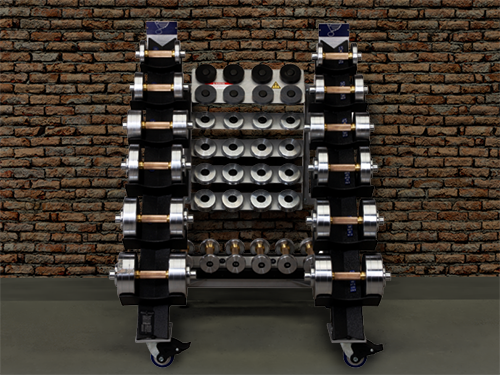 St. Louis Blues choose Black Iron Strength Antimicrobial Copper Dumbbells for their players.