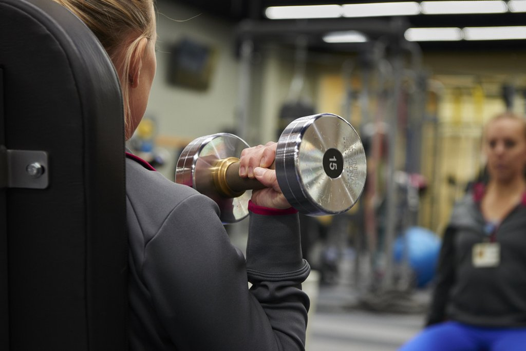 Fitness Centers choose Black Iron Strength® Antimicrobial Copper Dumbbells, giving users protection from germs 24/7.