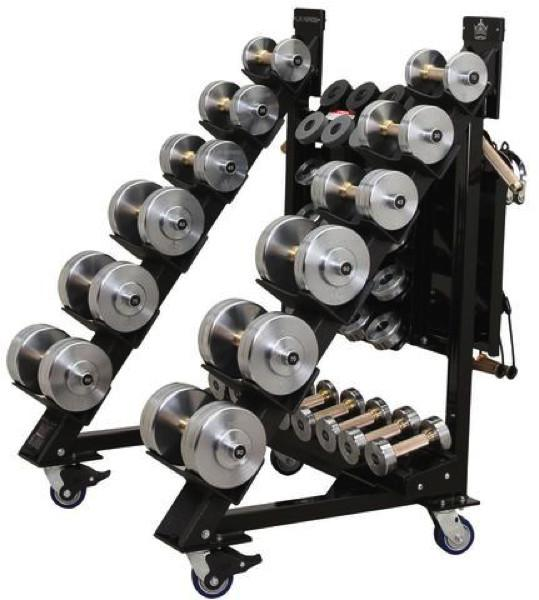 Black Iron Strength® Adjustable Dumbbells are the only commercial grade dumbbells!