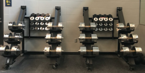 Black Iron Strength® Adjustable Dumbbells Heavy Set #3 and Heavy Set #4