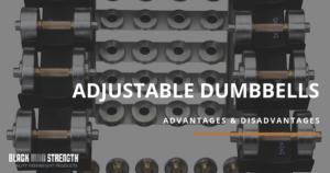 Black Iron Strength® Adjustable Dumbbells Banner for Blog Post