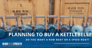 Planning to buy a kettlebell? Check out these kettlebells from Black Iron Strength.
